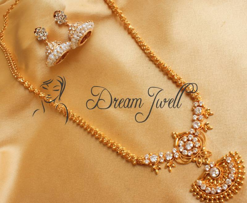 Gold Plated Long Necklace Online Gorgeous Gold Plated Long
