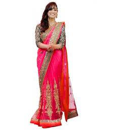 Buy krisna fashion georgette saree With Blouse bridal-saree online