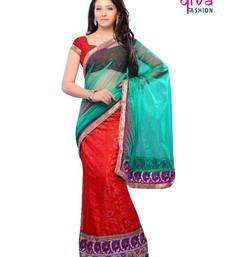 Buy Evening party wear lehenga saree lehenga-saree online