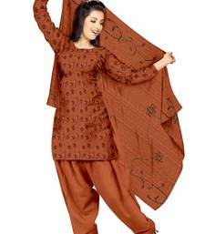Buy Traditional Embroider Synthetic Dress Material PSS116 salwars-and-churidar online