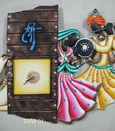 Buy Radha Krishna Cow Wall Clock wall-clock online