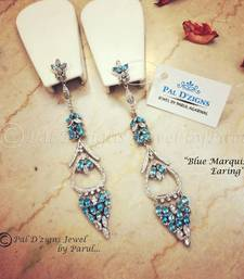 Buy Blue Marquise Earing danglers-drop online