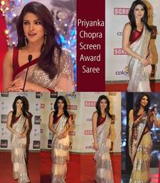 Buy Bollywood Dreams ~ Priyanka Chopra Screen Award Saree net-saree online