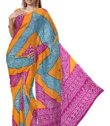 Buy Latest Designer Kota Doria Pure Cotton Saree -168 cotton-saree online