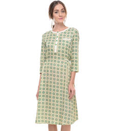 Buy Women's Designer Pure Cotton Printed Dress dress online