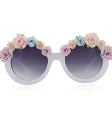 Buy Exotic semi floral frame with ombre glasses sunglass online