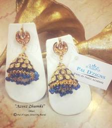 Buy Azeez Zhumki (Blue) jhumka online