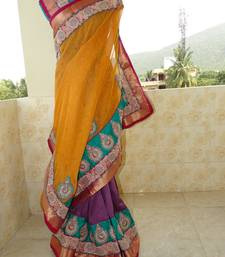 Buy Party wear & wedding saree wedding-saree online