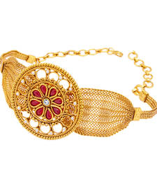 Buy Attractive Gold Plated Bajuband For Women bajuband online