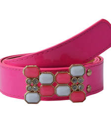 "Buy "" Pink Color"" Belt Combo For Womens gifts-for-sister online"