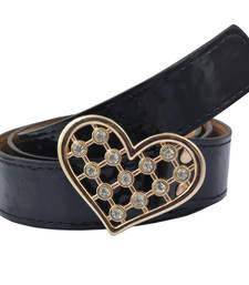 "Buy "" Black Color"" Belt Combo For Womens gifts-for-sister online"