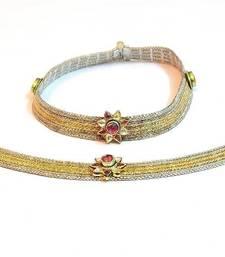 Buy Queen's royal bridal anklet no 1002 anklet online