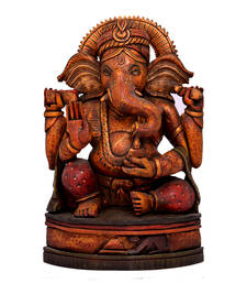 Buy good luck ganesh statue for home decor gifts online for Good luck home decor