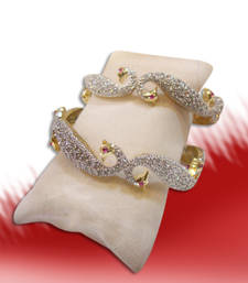 Buy Rakhi gifts for Sister - Design no. 16.1195....Rs. 1850...AVAILABLE IN 2.4,  2.6 AND 2.8 SIZES. bangles-and-bracelet online