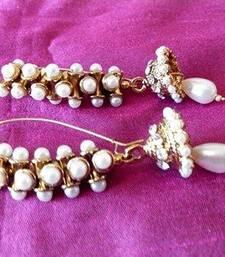 Buy Damru Pearl Jhumki Earring jhumka online