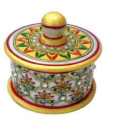 Buy Chitrahandicraft Marble Dry Fruit Bowl other-home-accessory online