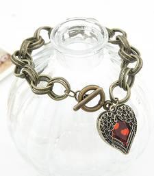 Buy Rhinestone Heart Bracelet(CFB0064) bangles-and-bracelet online