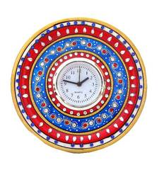 Buy Chitrahandicraft Marble Round Watch other-home-accessory online