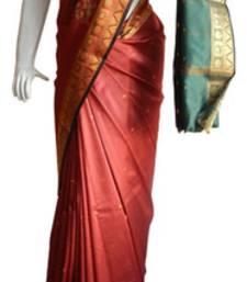 Buy Red & Green Banarasi Silk Saree  1112-2158 banarasi-silk-saree online