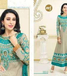 beautiful karishma kapoor  designer anarkali salvar suit 30010 shop online
