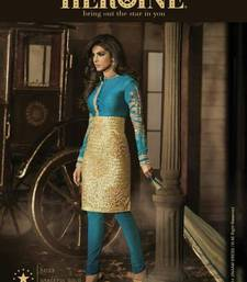 Buy Priyanka Chopra Designer Straight Suit salwars-and-churidar online