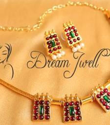 Buy BEAUTIFUL TEMPLE NECKLACE SET necklace-set online