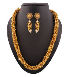 Buy Class Apart fluer Gold plated contemporary set necklace-set online