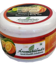 Buy Aloevera and orange nourishing body gel 500g, personal-cis online