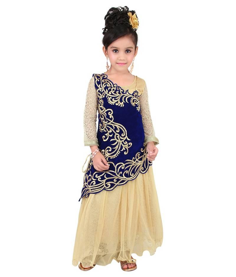 Designer Dresses For Girl Child In India