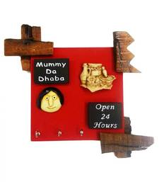 Buy Mummy Da Dhaba Key Holder wall-decal online