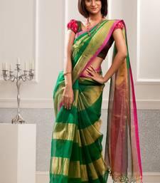 Buy Aavaranaa MulticolourOrganza sarees organza-saree online
