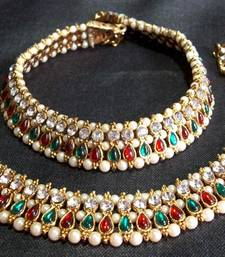 Buy Gold Plated Anklets For Women anklet online