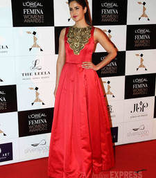 Katrina Red Gown shop online