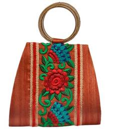 Buy Craftstages Ethnic Floral work Potli potli-bag online