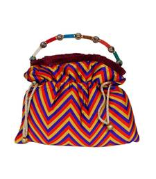 Buy Craftstages Ethnic Multicolor Potli Bag potli-bag online