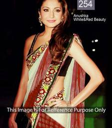 Buy Bollywood Anushka Sharma Net stylise saree anushka-sharma-saree online