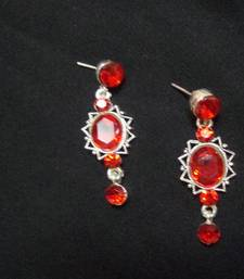 Red Rose Ear rings shop online