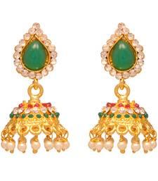 Buy Vendee Fashion Traditional Jhumki earrings 8067(B) jhumka online