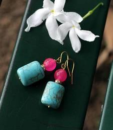 Buy Touch of Pink Earrings danglers-drop online