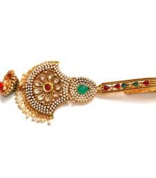 Buy Anvi's pearl work chabi ka gucha with jhumkas key-chain online