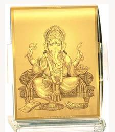 Buy Om Ganesha Car Stand LM521 ganesh-chaturthi-gift online