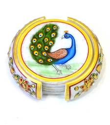 Buy Peacock Coaster Set other-home-furnishing online