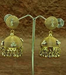 Buy Designer Jhumka Stud Earrings Earring online