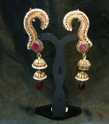 Design no. 1.513....Rs. 1500 full ear cover earrings. shop online