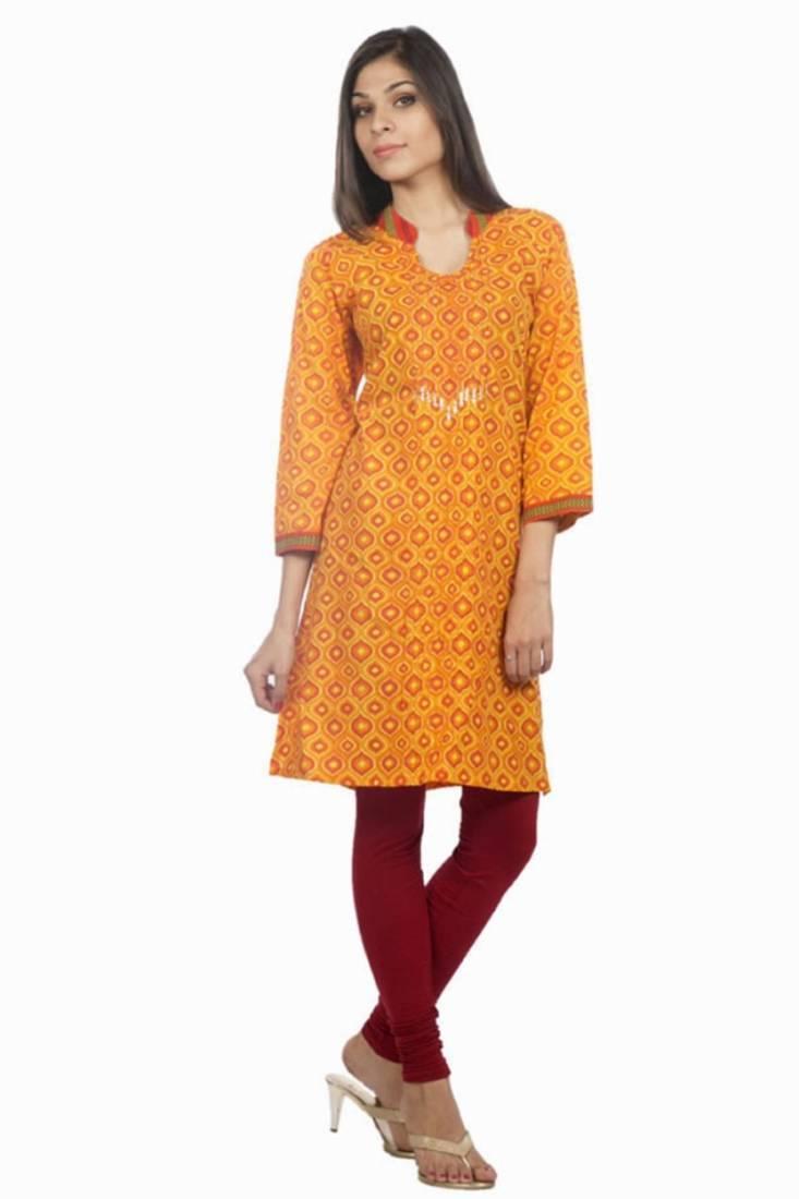 Buy Dorabella Women's Designer Cotton Kurti [N1207A] Online