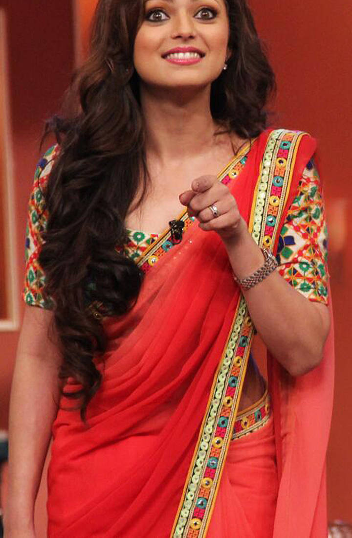 Buy MADHUBALA IN RED SAREE Online