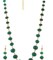 Buy stone Green necklace-sets necklace-set online