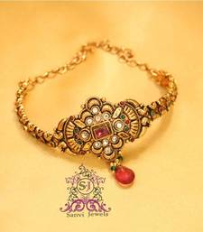 Buy Antique Polki Kundan Baajuband bajuband online