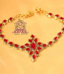 Buy Ruby & Emerald Elegant Bajuband bajuband online