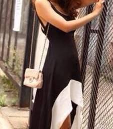 Buy Hem Tank Swallow Tail Sleeveless Summer Long Dress dress online